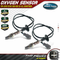 2x O2 02 Oxygen Sensors for Infiniti Q45 1997 1998 1999 2000 2001 V8 4.1L VH41DE