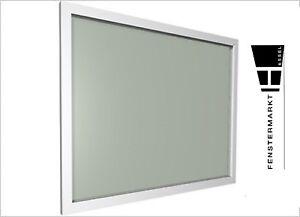 Fenster weiß Fest Kunststofffenster PVC weiss Festelement Festverglasung B x H