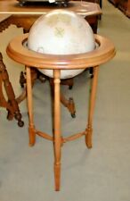 Vintage Globe on Maple Stand