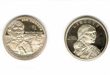 2018-S $1 Proof Commemorative  WA-THO-HUK Jim Thorpe Flawless Coin!
