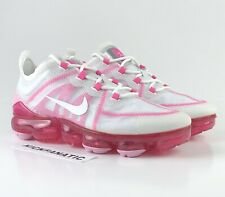 Nike Air Vapormax 2019 Pink White AR6632-105 Running Shoes Women's Size 8.5 NEW