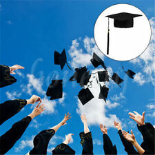 Mortar Board Student Graduate Black Dress Accessory Adults Graduation Hat Cap