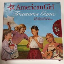 American Girl Doll Treasures Board Game Mattel Complete