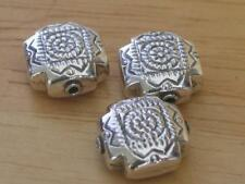 Sterling Silver Square Loose Beads