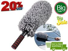 Microfiber Car Duster Brush Portable Cleaning Duster for CarExterior or Inter...