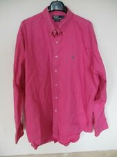Chemise polo by RALPH LAUREN BLAKE rose manches longues XXL