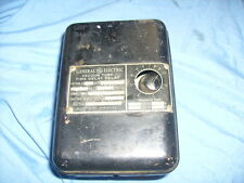 Ge General Electric Vacuum Tube Time Delay Relay Cr7504-A Box / S2
