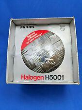 New Philips H5001 Round Halogen Headlamp C-6 12V 50W, 2 lug, high beam.