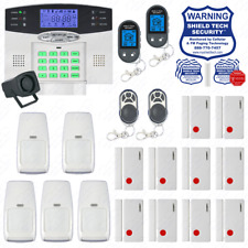 Wireless Burglar Alarm System Phone Line Auto Dialer US Home House Smart PSTN EX