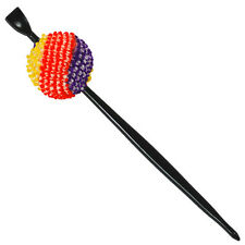 Japanese Hair Ornament Kanzashi Silk Red/Yellow/Purple Ball Stick Style