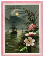 C.E. Longley & Co. Clothiers, New Haven, CT Victorian Trade Card