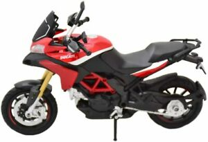 Ducati Multistrada 1200 S Pikes Peak, NewRay Moto Modèle 1:12, Art.57533