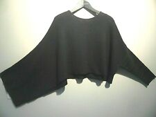 Pull ample et court Sarah Pacini neuf fin lainage opaque
