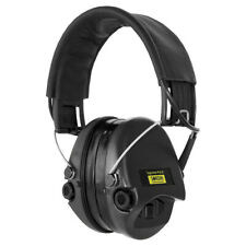 Sordin Supreme Pro X Ear Muffs Hearing Protection Leather Band Gel Pad Black