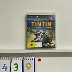 The Adventures of TinTin PS3 PlayStation 3 + manual r439