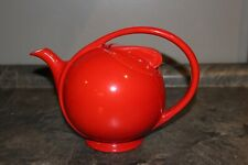 Hall's Teapot Airstream Chinese Red Superior Quality Kitchenware USA Hall