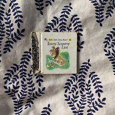 Vintage Little Little Golden Book Tawny Scrawny Lion Miniature Kids Story 1980