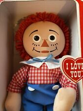 Collectable Raggedy Andy Doll, Johnny Gruell, New In The Box