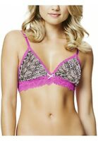 NEW KAYSER LACE BRA BRALETTE WIREFREE BRA TOP SIZE S,M,L FIT SIZE 6-8, 10-12,14