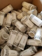 50 Small (Gold) Dollar Size Performed Shotgun Paper  Wrappers. Presidential, SBA