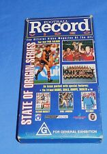 1994 Football Record Video AFL Footy VHS State of Origin Series 60 Min Highlight