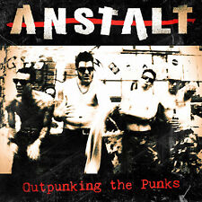 Anstalt - Outpunking the Punks (LP) NEU Punk Hardcore HCPunk Genocide SS Amen 81