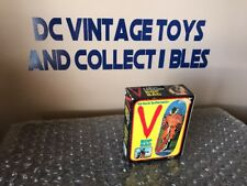 Vintage  ARCO V ENEMY VISITOR BOP BAG MISB Sealed 1984 Warner bros inc. LJN-RARE