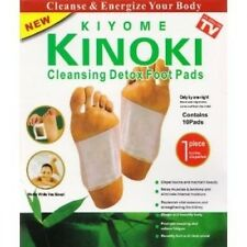 1-10 PACK KINOKI DETOX PADS- USA SELLER!! CAN BE USED ON ANY BODY PART-NEW BOX