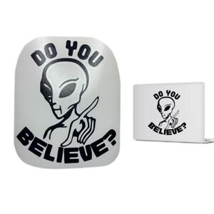 ALIEN Vinyl Decal Different Colors for car truck boat laptop UFO Sticker