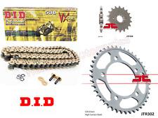 Honda CBR125 R-B,C,D,E,F,G,H 2011 JT 428HPO Gold O-Ring Chain /& Sprocket Kit