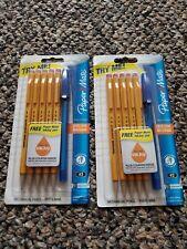 Paper Mate Sharpwriter 0.7mm Mechanical Pencils, 5 Yellow Pencils Set of 2