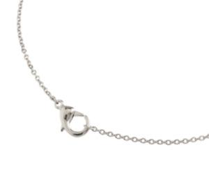 Boccia Halskette Titan 08050-0160 Kette Gliederkette 60 cm mit Karabin-Verschlus