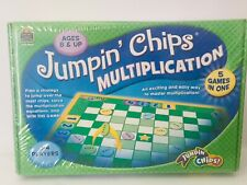 Teacher Created Resources ~ Jumpin' Chips Multiplication Math Game Ages 8 +