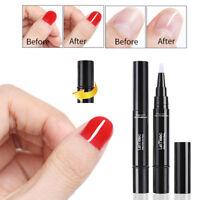 LEMOOC 5ml Nagel Gellack Base Coat Top Coat UV Gel Polish Rotating Pen Soak Off
