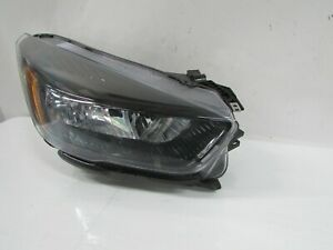 2017-2019 FORD ESCAPE OEM RIGHT HALOGEN BLACK BEZEL HEADLIGHT W/O LED ACCENT T1