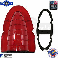 54 Chevrolet Bel Air  Rear Taillight Tail Light Lamp LENS & GASKET EACH USA Made