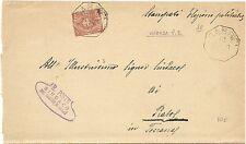 P5861   Vicenza, CARRE', annullo ottagonale 1897