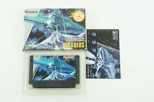 GRADIUS NES KONAMI Nintendo Famicom Box From Japan