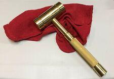 Brass Hammer 4# BROOKS-USA LIFETIME Warranty, non-sparking, Professional Quality