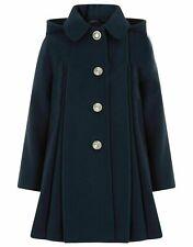 Monsoon NEW Girls Navy Hood Casual Dress Warm Coat Winter Jacket Age 3 to 13 Yrs