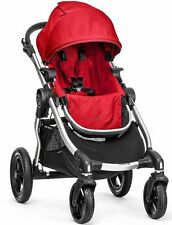 Baby Jogger City Select All Terrain Single Stroller Silver Frame Ruby 2017