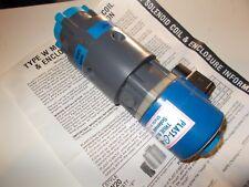 PLAST-O-MATIC TRUE BLUE SELENOID VALVE,PVC,TYPE W,AUTO,3 WAY