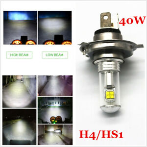 For Motorcycle H4 6500K LED Hi/Lo Beam Front Light Bulb Super Bright Headlight