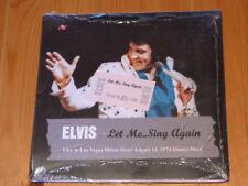 ELVIS PRESLEY Let me .. Sing Again Sleeve 2 Lim Ed CD 1973 Las Vegas Rock'n'Roll