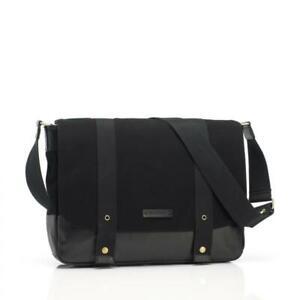 Storksak Aubrey - Black Nappy Bag