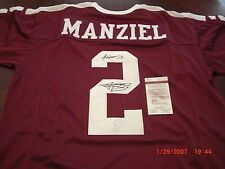 JOHNNY MANZIEL TEXAS A&M AGGIES,HEISMAN 2012 JSA/COA SIGNED JERSEY