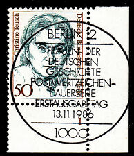 32) Berlin 50 Pf Frauen 770 FN 1 Formnummer Ecke 4 ESST Berlin 12 mit Gummi