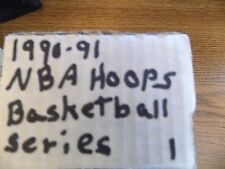 1990-91 Hoops NBA Basketball Cards (Complete Series 1) Set 1-336 Series
