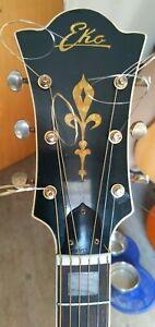 Rare Vintage Eko E85 Acoustic Guitar