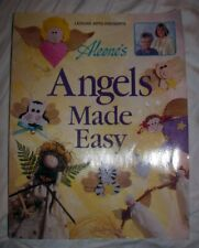 Aleene's ANGELS MADE EASY Craft Book 49 Projects Templates Ornaments Frames Pots